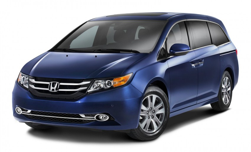 2014 Honda Odyssey Touring Elite minivan debuts new HondaVAC in-car vacuum cleaner Image #164382