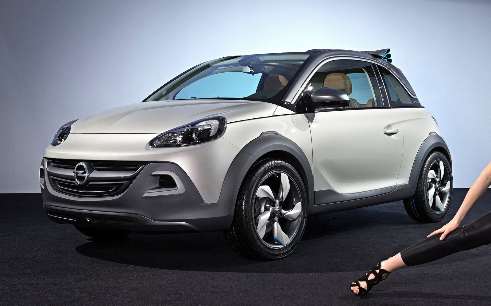 gallery opel adam rocks open air 4x4 styled. Black Bedroom Furniture Sets. Home Design Ideas
