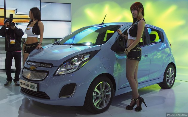 chevrolet spark ev to be made in south korea