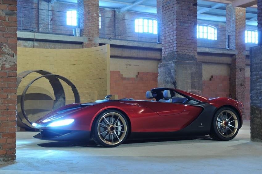 Pininfarina Sergio Concept – fitting tribute to a legend Image #160879