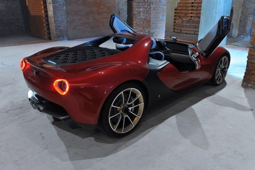 Pininfarina Sergio Concept – fitting tribute to a legend Image #160888