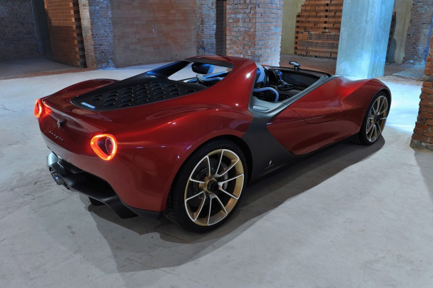 Pininfarina Sergio Concept – fitting tribute to a legend Image #160898