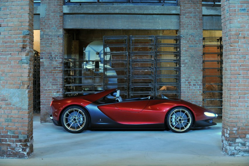 Pininfarina Sergio Concept – fitting tribute to a legend Image #160900