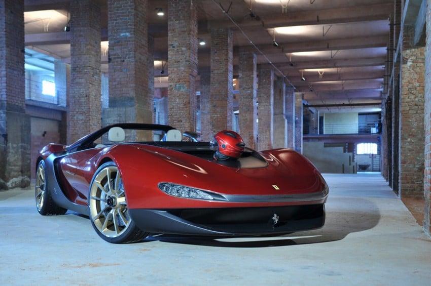 Pininfarina Sergio Concept – fitting tribute to a legend Image #160909
