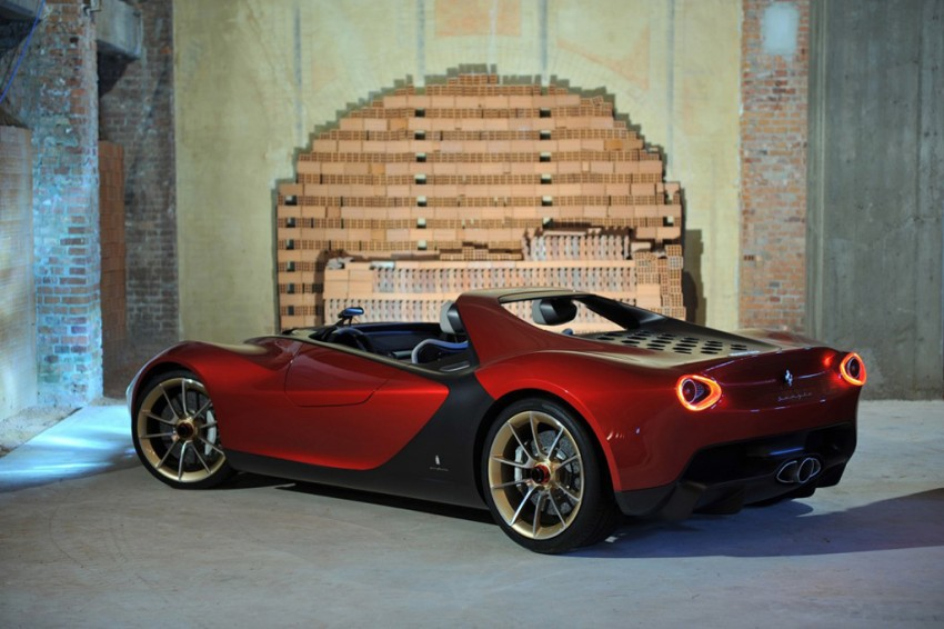 Pininfarina Sergio Concept – fitting tribute to a legend Image #160912