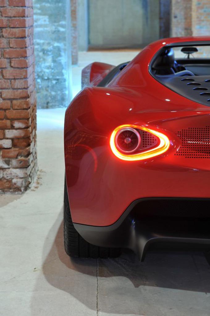 Pininfarina Sergio Concept – fitting tribute to a legend Image #160915