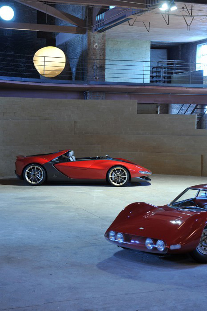 Pininfarina Sergio Concept – fitting tribute to a legend Image #160921