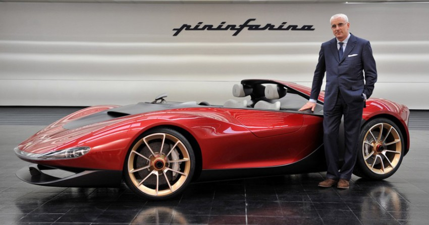 Pininfarina Sergio Concept – fitting tribute to a legend Image #160926