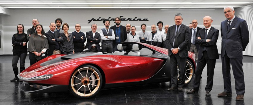 Pininfarina Sergio Concept – fitting tribute to a legend Image #160927