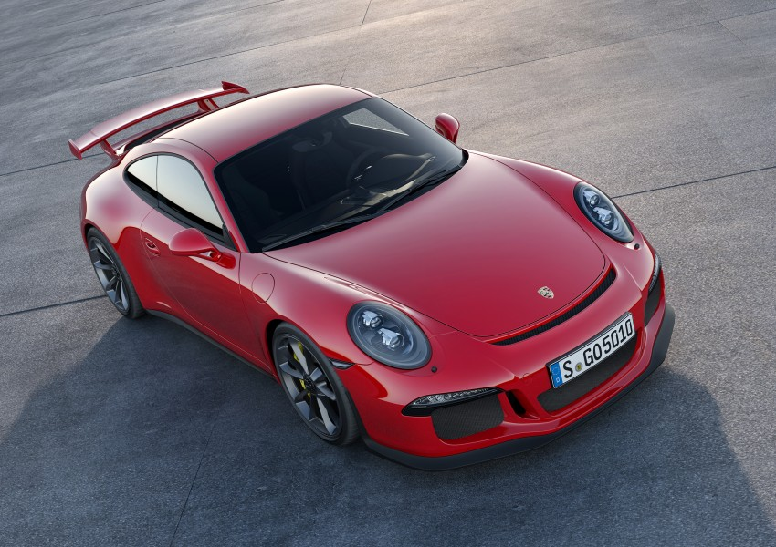Fifth-generation Porsche 911 GT3 unveiled in Geneva; 475 hp and active rear-wheel steering but PDK only Image #159086