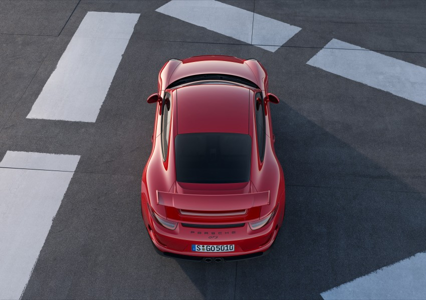 Fifth-generation Porsche 911 GT3 unveiled in Geneva; 475 hp and active rear-wheel steering but PDK only Image #159087