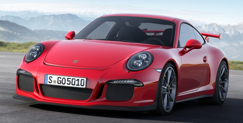 Fifth-generation Porsche 911 GT3 unveiled in Geneva; 475 hp and active rear-wheel steering but PDK only Image #159089