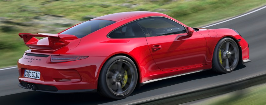 Fifth-generation Porsche 911 GT3 unveiled in Geneva; 475 hp and active rear-wheel steering but PDK only Image #159090