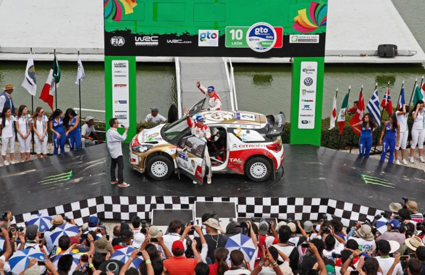 Ogier wins Rally Mexico, takes commanding WRC lead Image #161147