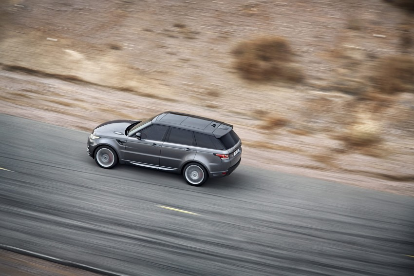 All-new Range Rover Sport loses 420 kg, adds 2 seats Image #164153