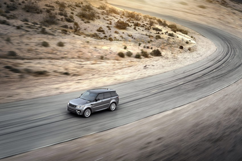All-new Range Rover Sport loses 420 kg, adds 2 seats Image #164154