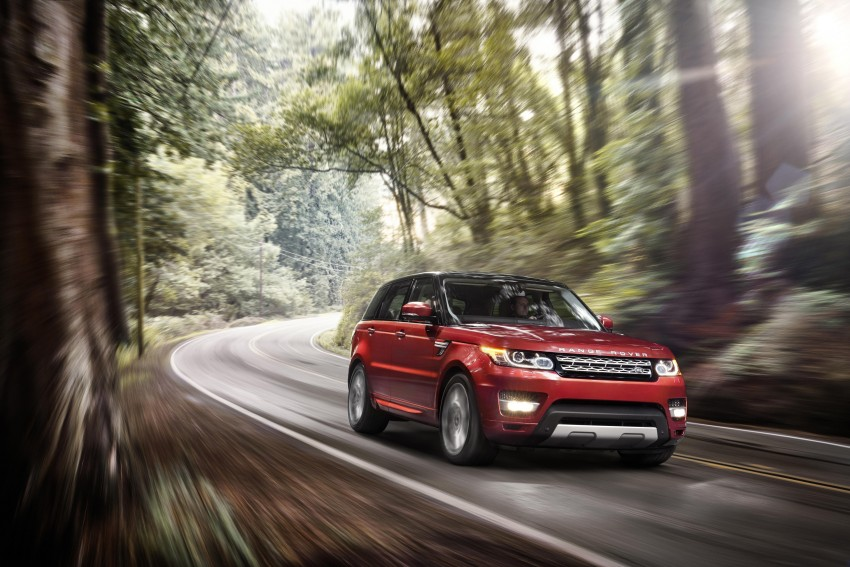 All-new Range Rover Sport loses 420 kg, adds 2 seats Image #164165