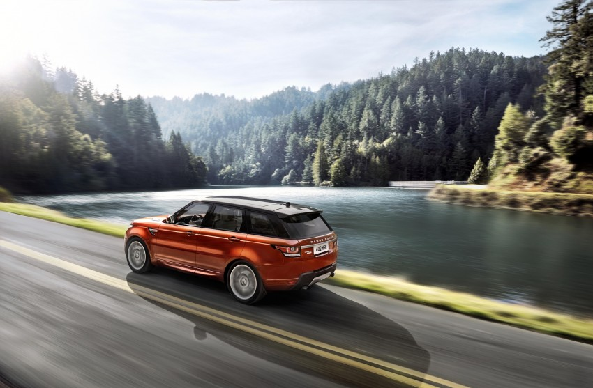 All-new Range Rover Sport loses 420 kg, adds 2 seats Image #164167