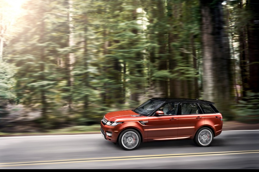 All-new Range Rover Sport loses 420 kg, adds 2 seats Image #164174