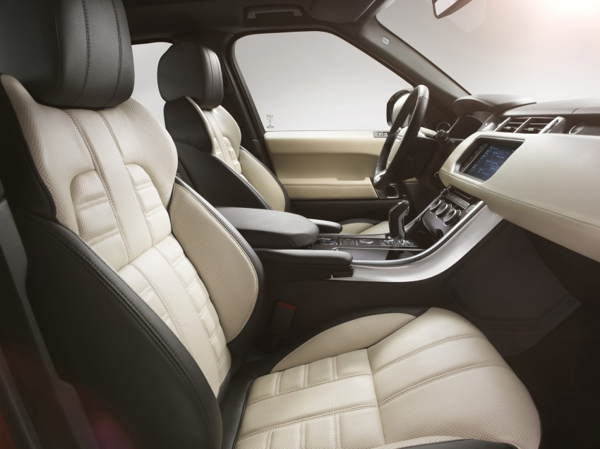 All-new Range Rover Sport loses 420 kg, adds 2 seats Image #164182