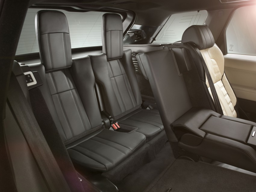 All-new Range Rover Sport loses 420 kg, adds 2 seats Image #164185