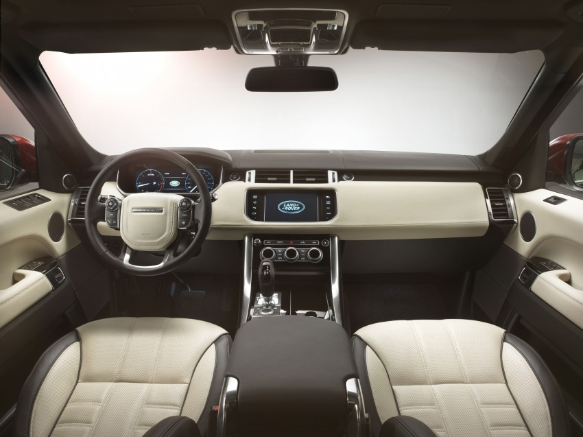 All-new Range Rover Sport loses 420 kg, adds 2 seats Image #164187