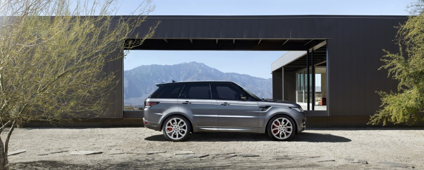 All-new Range Rover Sport loses 420 kg, adds 2 seats Image #164195