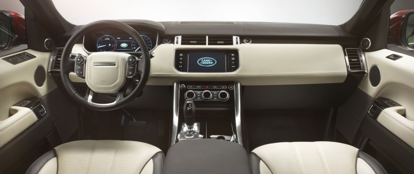 All-new Range Rover Sport loses 420 kg, adds 2 seats Image #164208