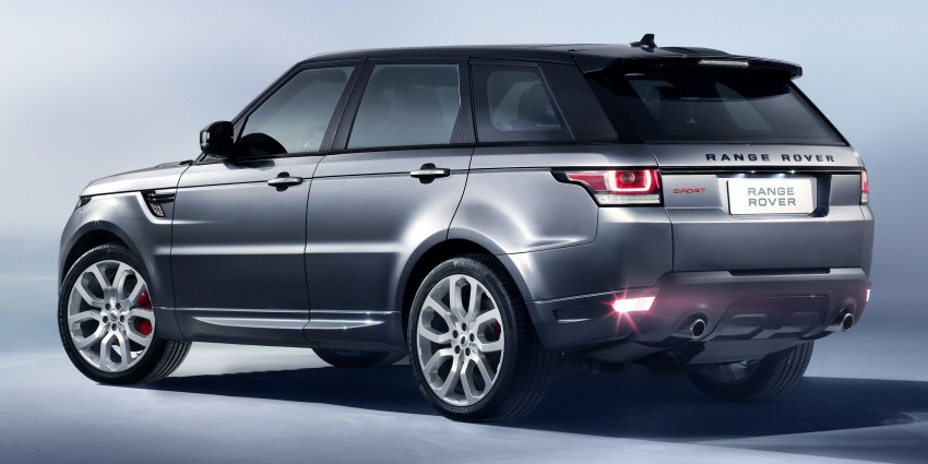 All-new Range Rover Sport loses 420 kg, adds 2 seats Image #164209