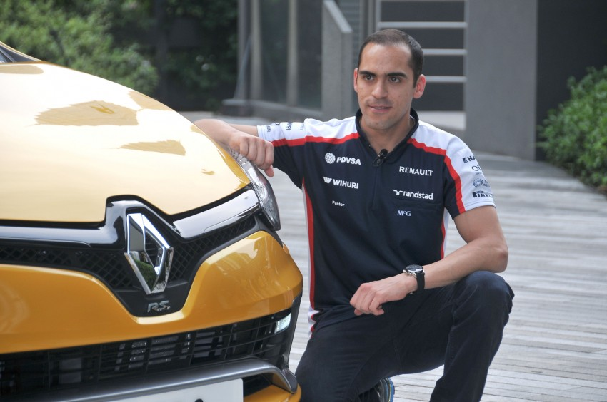Renault Clio RS 200 EDC makes its Asian debut in KL, presented by the Williams Formula One racing drivers Image #162840