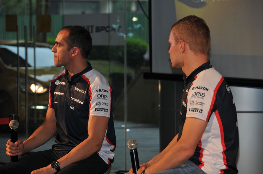 Renault Clio RS 200 EDC makes its Asian debut in KL, presented by the Williams Formula One racing drivers Image #162857