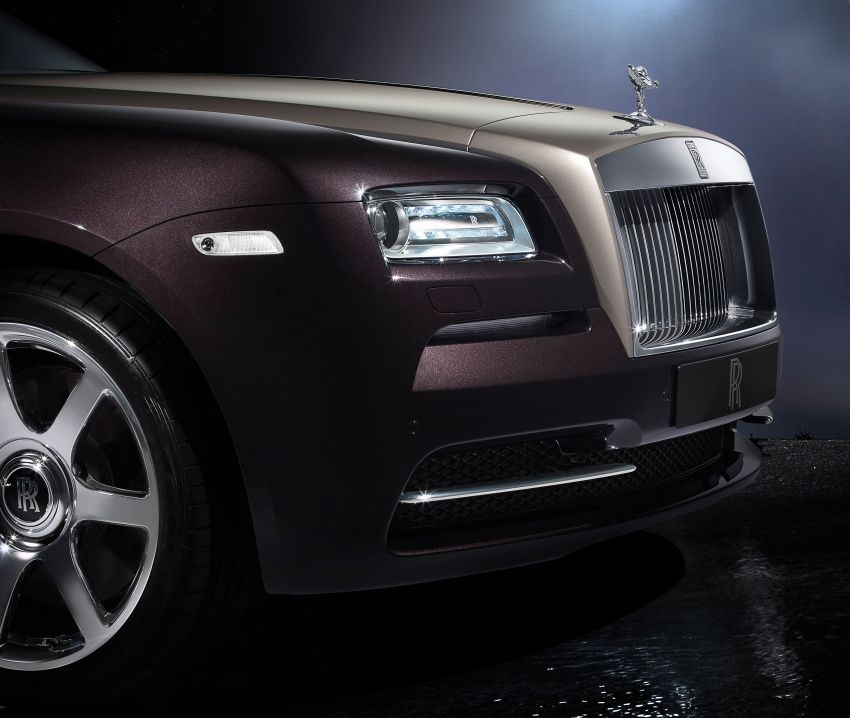 624 hp Rolls-Royce Wraith is the most powerful ever Image #158993