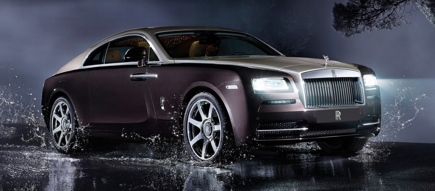 624 hp Rolls-Royce Wraith is the most powerful ever Image #158994