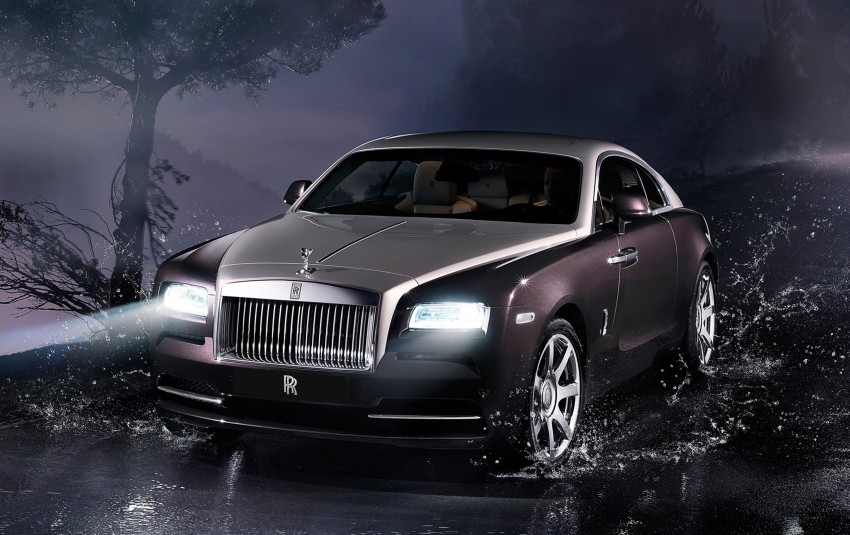 624 hp Rolls-Royce Wraith is the most powerful ever Image #158995