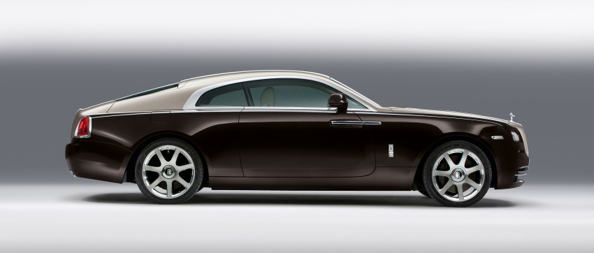 624 hp Rolls-Royce Wraith is the most powerful ever Image #158999