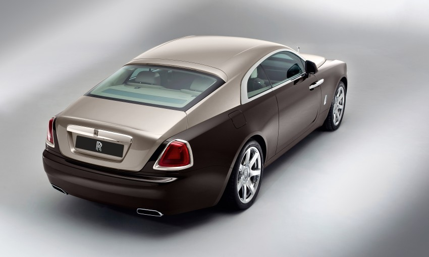 624 hp Rolls-Royce Wraith is the most powerful ever Image #159001