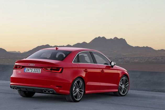New Audi A Sedan And Hot Hp S Sedan Unveiled - Audi sedan price