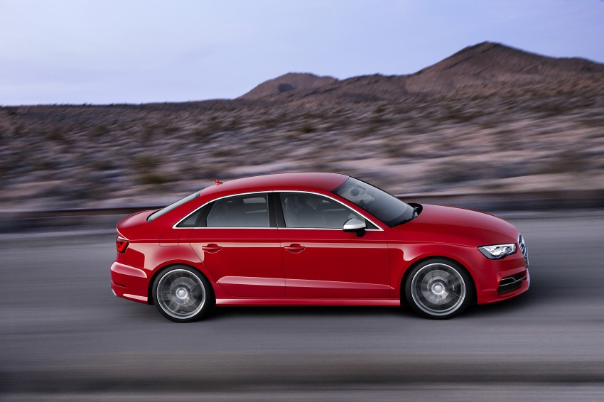 Audi A 3 Sedan >> New Audi A3 Sedan and hot 300 hp S3 Sedan unveiled Paul Tan - Image 164102