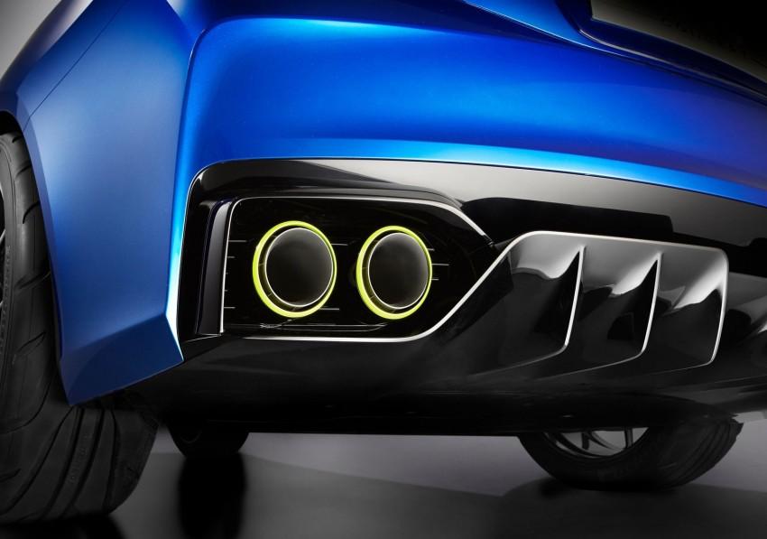 Subaru WRX Concept – NYC showcar hints at next gen Image #164969