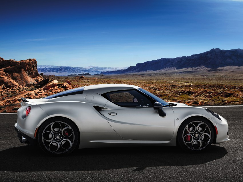 Alfa Romeo 4C Launch Edition: limited to 1,000 units Image #159409