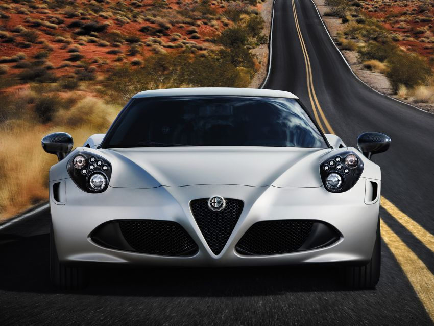 Alfa Romeo 4C Launch Edition: limited to 1,000 units Image #159412