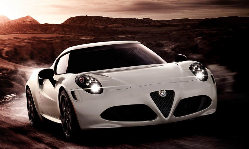 Alfa Romeo 4C Launch Edition: limited to 1,000 units Image #159413