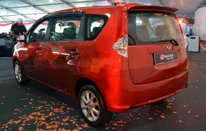Perodua launches S-Series Viva, Myvi and Alza – all Peroduas now come with 3 years free service Image #161566