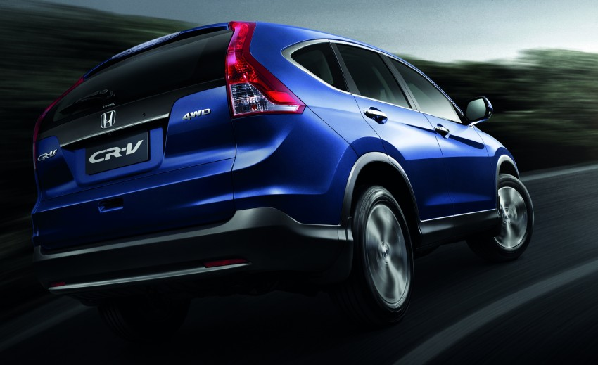 Honda CR-V launched – 2.0 litre, CKD, RM148,800 Image #159192