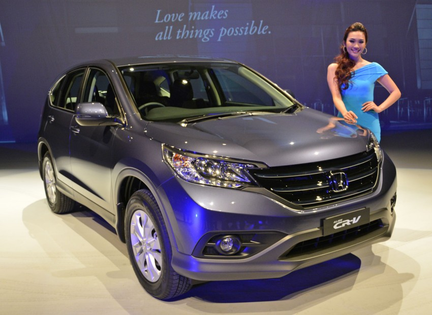 Honda CR-V launched – 2.0 litre, CKD, RM148,800 Image #159124