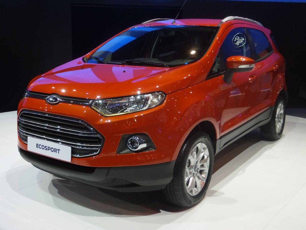 Ford Ecosport Makes Asean Debut In Bangkok