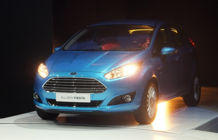 Ford Fiesta facelift gets ASEAN premiere in Bangkok – will now feature 1.0 litre EcoBoost turbo engine Image #163955
