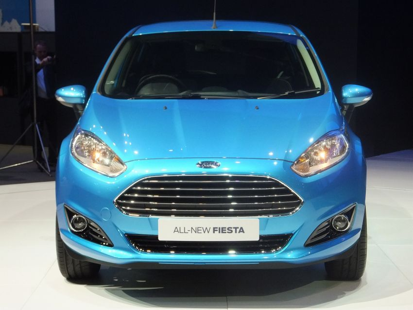 Ford Fiesta facelift gets ASEAN premiere in Bangkok – will now feature 1.0 litre EcoBoost turbo engine Image #163954