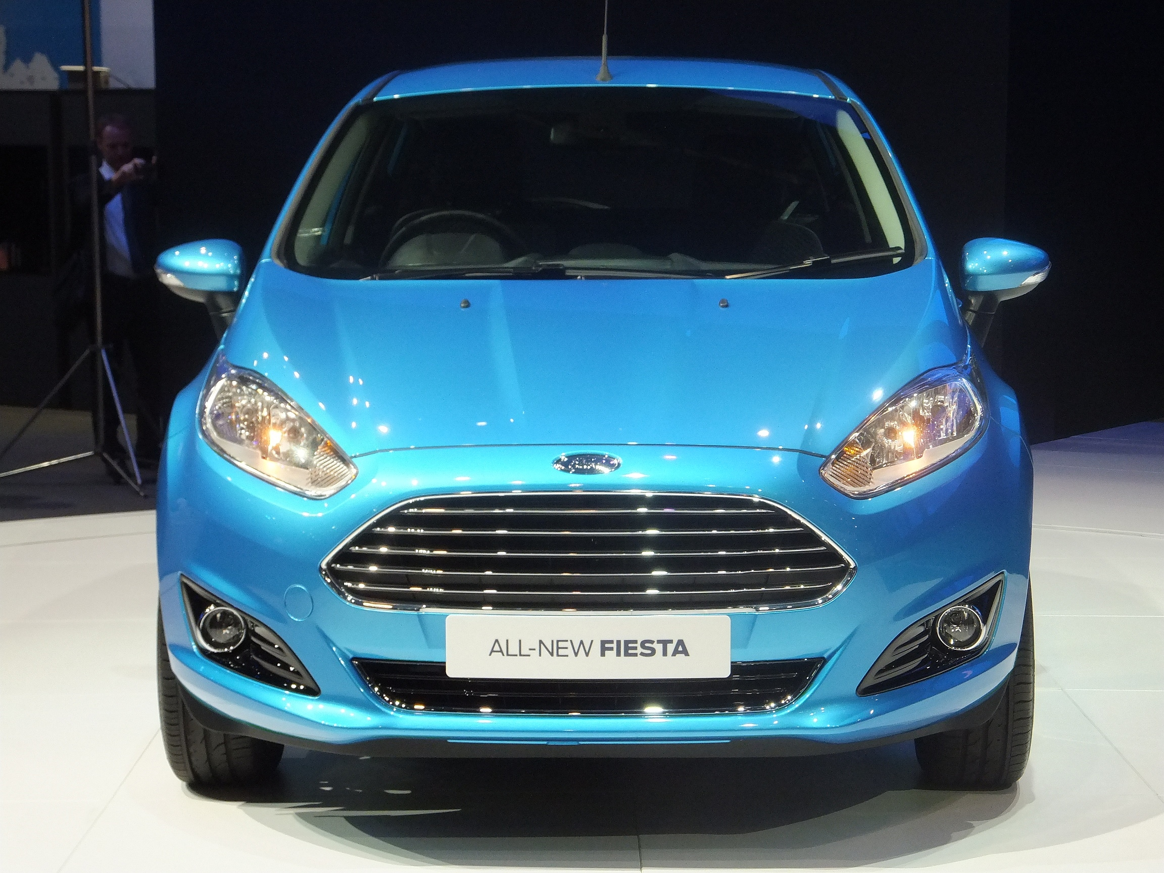 ford fiesta facelift gets asean premiere in bangkok will now feature 1 0 litre ecoboost turbo. Black Bedroom Furniture Sets. Home Design Ideas