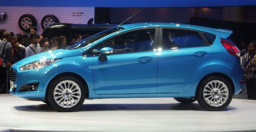 Ford Fiesta facelift gets ASEAN premiere in Bangkok – will now feature 1.0 litre EcoBoost turbo engine Image #163953